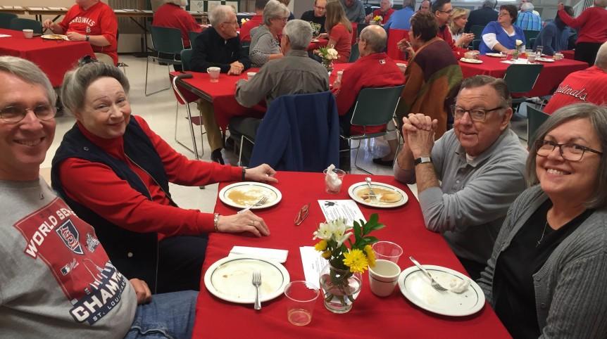 Cardinals Pancake Breakfast 2016